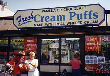 Petrovski Cream Puffs