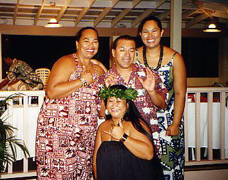 At the Kilohana Luau